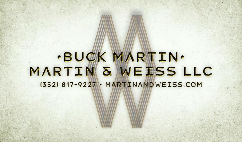 Martin & Weiss Cards - Buck